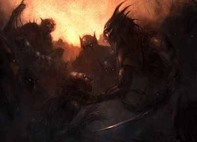 demons, fantasy art, artwork, beasts - desktop wallpaper