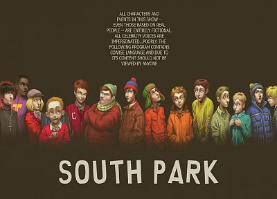South Park, alternative art - random desktop wallpaper