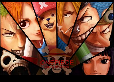 One Piece (anime), Nico Robin, Roronoa Zoro, Franky (One Piece), Tony Tony Chopper, Brook (One Piece), Nami (One Piece), Sanji (One Piece), Ussop - related desktop wallpaper