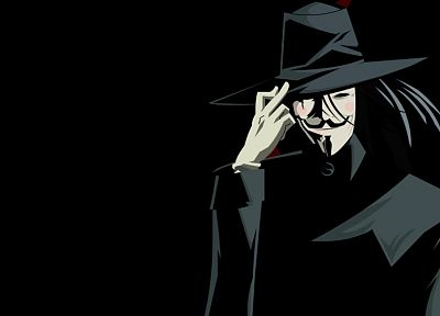 Anonymous, V for Vendetta - related desktop wallpaper