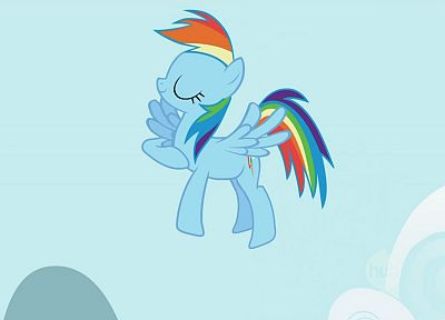 My Little Pony, Rainbow Dash - desktop wallpaper