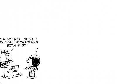 comics, Calvin and Hobbes - random desktop wallpaper