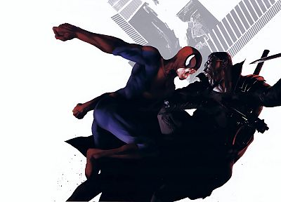 Spider-Man, Marvel Comics, Blade (comics) - random desktop wallpaper