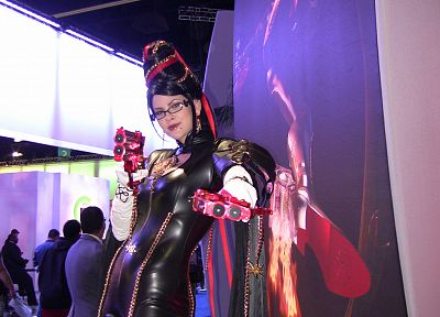 women, cosplay, Bayonetta, E3 - random desktop wallpaper