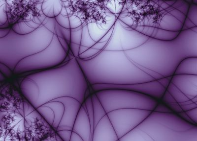 abstract, purple, dual screen, lines - related desktop wallpaper