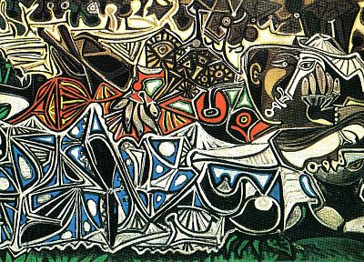 abstract, paintings, Pablo Picasso - random desktop wallpaper