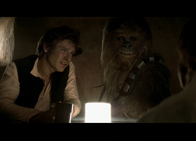 Star Wars, screenshots, Han Solo, Chewbacca, Harrison Ford - random desktop wallpaper