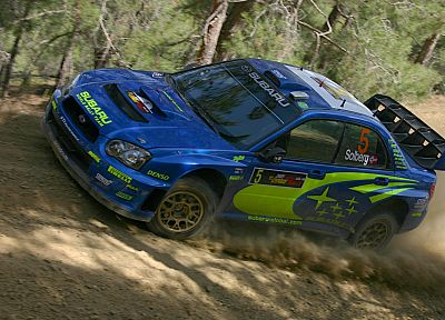 cars, rally, Subaru Impreza WRC - desktop wallpaper