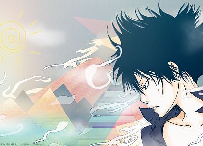 Katekyo Hitman Reborn, Hibari Kyoya - related desktop wallpaper