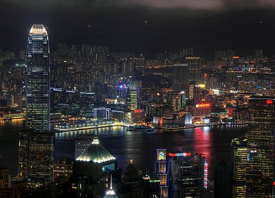 cityscapes, architecture, buildings, Hong Kong - desktop wallpaper