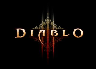 video games, Diablo, Diablo III, black background - desktop wallpaper