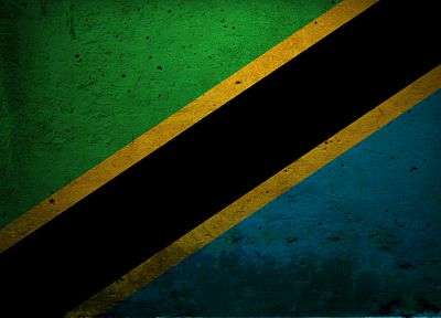 flags, Tanzania - random desktop wallpaper
