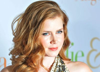 women, blue eyes, actress, Amy Adams - random desktop wallpaper