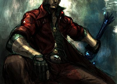 Devil May Cry, Dante, fan art - related desktop wallpaper