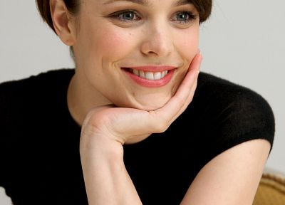 brunettes, women, Rachel McAdams, smiling - related desktop wallpaper
