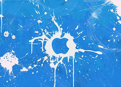 Apple Inc., logos - desktop wallpaper