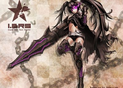 Black Rock Shooter, Insane Black Rock Shooter - random desktop wallpaper