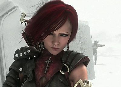 women, redheads, Dragon Age, Dragon Age Origins, Leliana - related desktop wallpaper