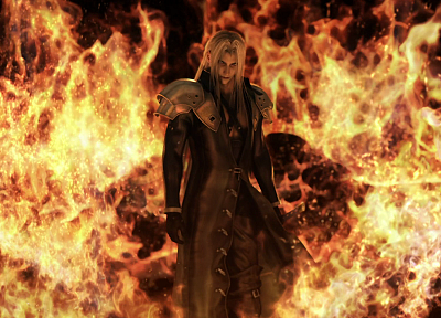 Final Fantasy VII, video games, movies, Final Fantasy VII Advent Children, Sephiroth - related desktop wallpaper