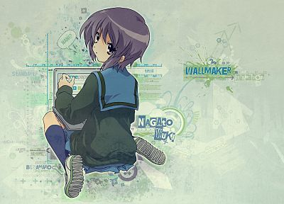 Nagato Yuki, The Melancholy of Haruhi Suzumiya - related desktop wallpaper