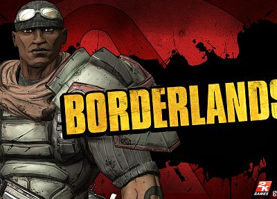 video games, Borderlands, Brick - Borderlands - desktop wallpaper