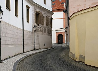 streets, Prague, Czech Republic - related desktop wallpaper
