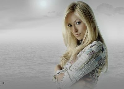 blondes, women, models, Olivia Wilde - random desktop wallpaper