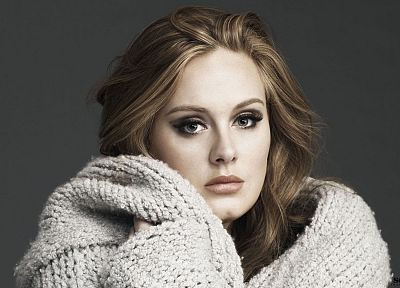 women, models, Adele (singer) - random desktop wallpaper