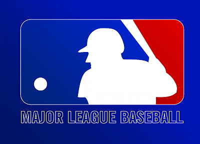 blue, baseball, MLB, logos - random desktop wallpaper
