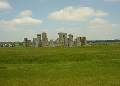 green, Stonehenge, rocks, United Kingdom, historic, Great Britain - random desktop wallpaper