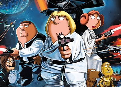 Star Wars, Family Guy - desktop wallpaper