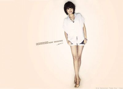 women, actress, Girls Generation SNSD, celebrity, DeviantART, Choi Sooyoung, bangs - desktop wallpaper