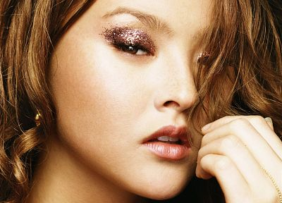 models, Devon Aoki, faces - desktop wallpaper