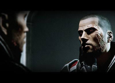 Mass Effect, Mass Effect 2, Commander Shepard - random desktop wallpaper