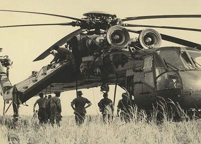 aircraft, helicopters, Sikorsky, vehicles, S-64 Skycrane - related desktop wallpaper