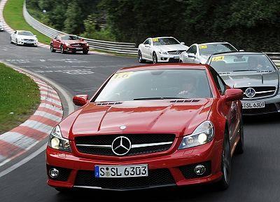 cars, Mercedes-Benz, race tracks - random desktop wallpaper