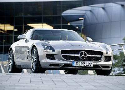 cars, Mercedes-Benz, Mercedes SLS AMG - random desktop wallpaper