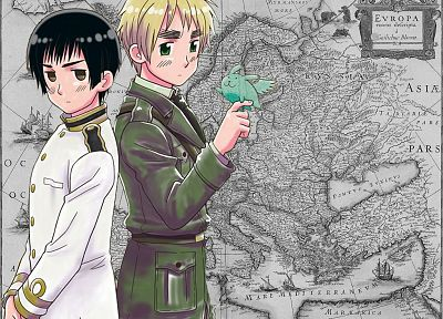 Japan, England, maps, anime, Axis Powers Hetalia - related desktop wallpaper