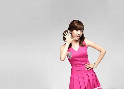 brunettes, women, Girls Generation SNSD, celebrity, Asians, Korean, K-Pop, Lee Soon Kyu - related desktop wallpaper
