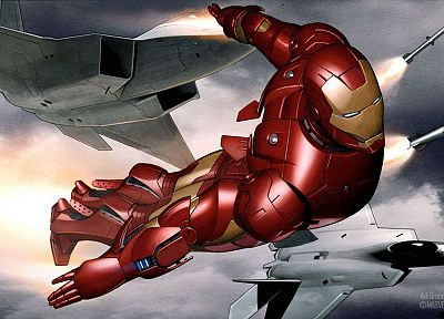Iron Man, Marvel Comics, Avengers - desktop wallpaper