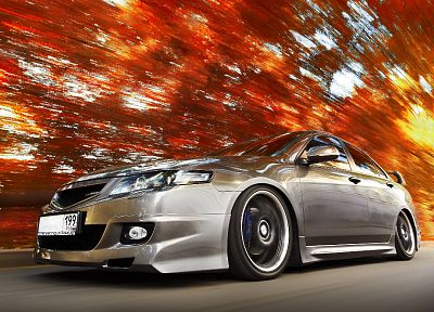 cars, tuning, Honda Accord - random desktop wallpaper