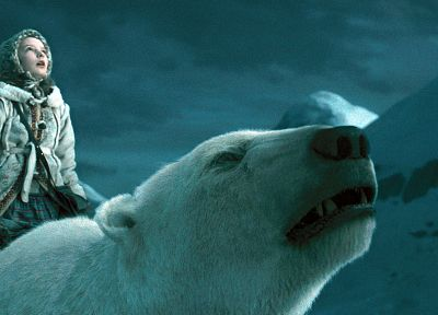 movies, The Golden Compass, polar bears, children - desktop wallpaper