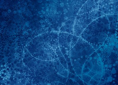 abstract, blue, Linux Mint - random desktop wallpaper