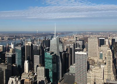 landscapes, cityscapes, USA, New York City, Manhattan, Empire State Building, skyscapes - related desktop wallpaper