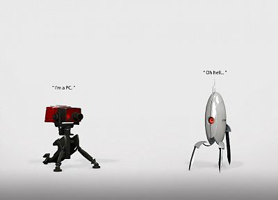 Valve Corporation, Portal, Team Fortress 2 - related desktop wallpaper