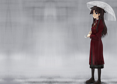 Fate/Stay Night, Tohsaka Rin, Fate series - random desktop wallpaper