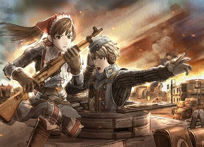 Valkyria Chronicles - random desktop wallpaper