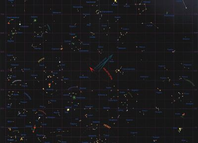 outer space, stars, maps, star control - related desktop wallpaper