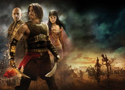Prince of Persia, Gemma Arterton, Jake Gyllenhaal, Ben Kingsley - random desktop wallpaper