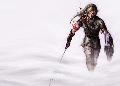 video games, Link, The Legend of Zelda - desktop wallpaper